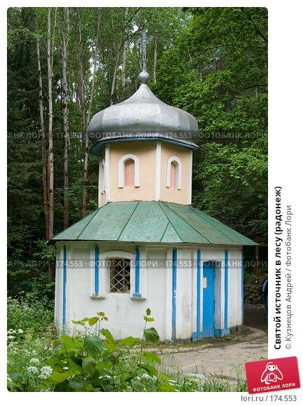 Святой источник в лесу (радонеж), фото № 174553, снято 1 июля 2006 г. (c) Кузнецов Андрей / Фотобанк Лори