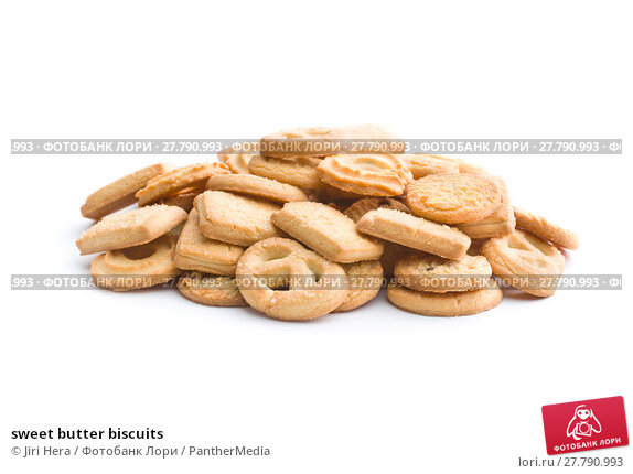 Купить «sweet butter biscuits», фото № 27790993, снято 18 октября 2018 г. (c) PantherMedia / Фотобанк Лори