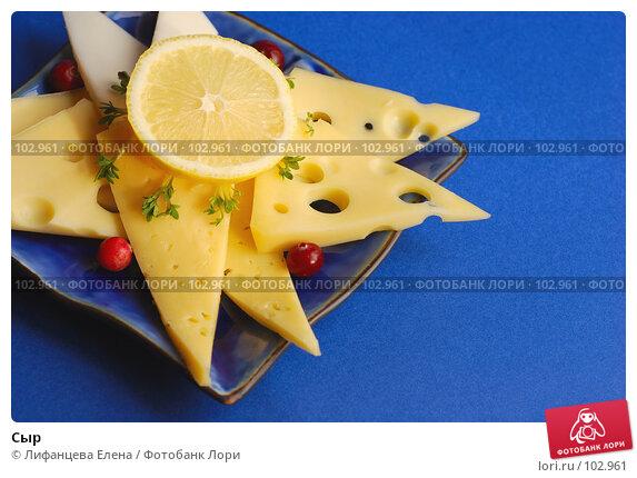 Купить «Сыр», фото № 102961, снято 20 апреля 2018 г. (c) Лифанцева Елена / Фотобанк Лори