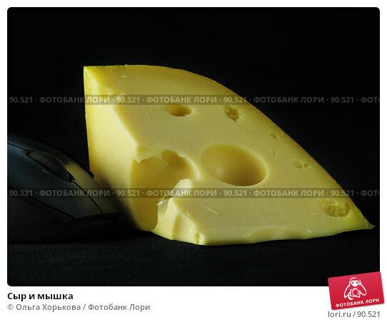 Сыр и мышка, фото № 90521, снято 14 сентября 2007 г. (c) Ольга Хорькова / Фотобанк Лори