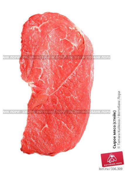 Сырое мясо (стейк), фото № 336309, снято 27 июня 2008 г. (c) Tamara Kulikova / Фотобанк Лори