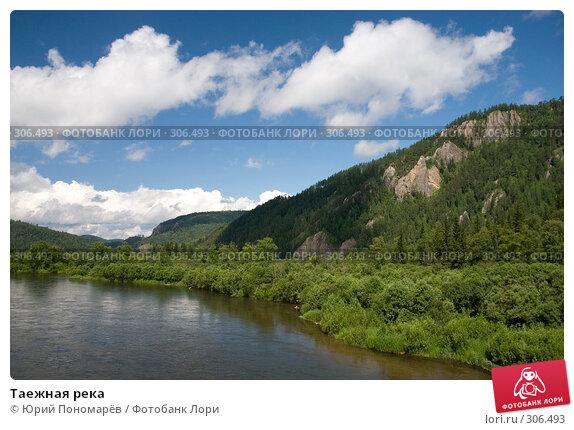 Купить «Таежная река», фото № 306493, снято 3 июля 2007 г. (c) Юрий Пономарёв / Фотобанк Лори