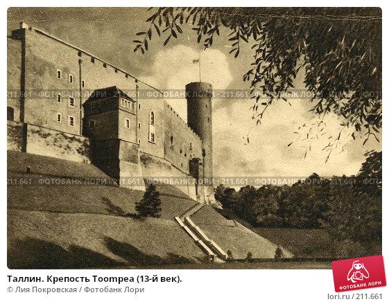 Таллин. Крепость Toompea (13-й век)., фото № 211661, снято 21 января 2017 г. (c) Лия Покровская / Фотобанк Лори