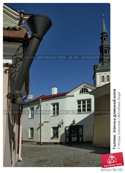 Таллин. Улочка длинной ноги, фото № 50133, снято 23 октября 2016 г. (c) Игорь Соколов / Фотобанк Лори