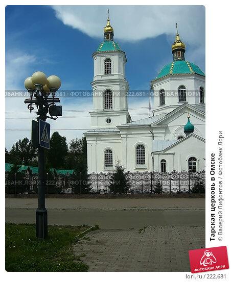 Тарская церковь в Омске, фото № 222681, снято 24 января 2017 г. (c) Валерий Лифонтов / Фотобанк Лори