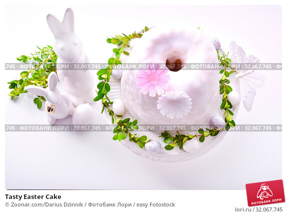 Tasty Easter Cake. Стоковое фото, фотограф Zoonar.com/Darius Dzinnik / easy Fotostock / Фотобанк Лори