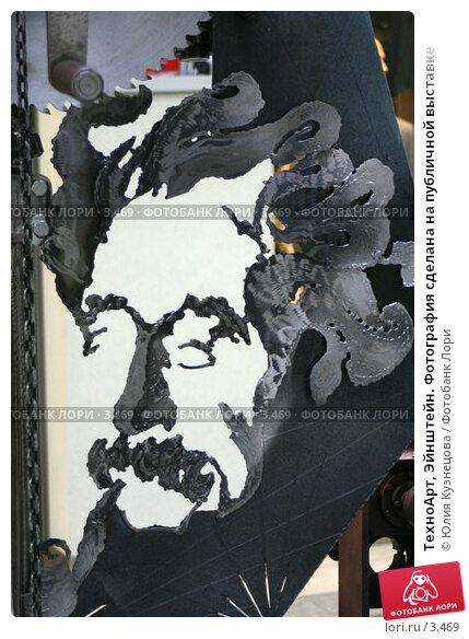 ТехноАрт, Эйнштейн. Фотография сделана на публичной выставке, фото № 3469, снято 22 января 2017 г. (c) Юлия Кузнецова / Фотобанк Лори
