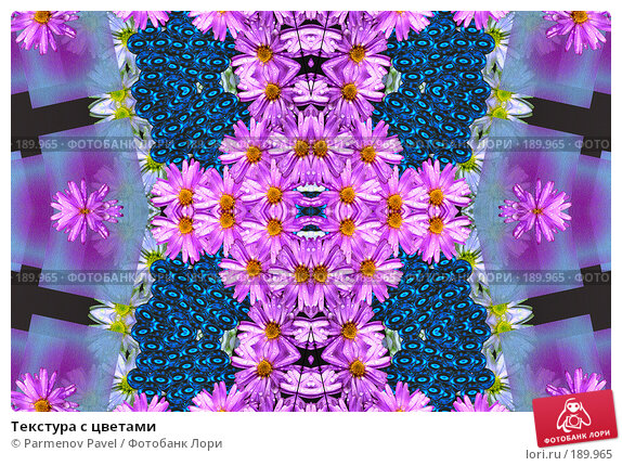Текстура с цветами, фото № 189965, снято 21 декабря 2007 г. (c) Parmenov Pavel / Фотобанк Лори