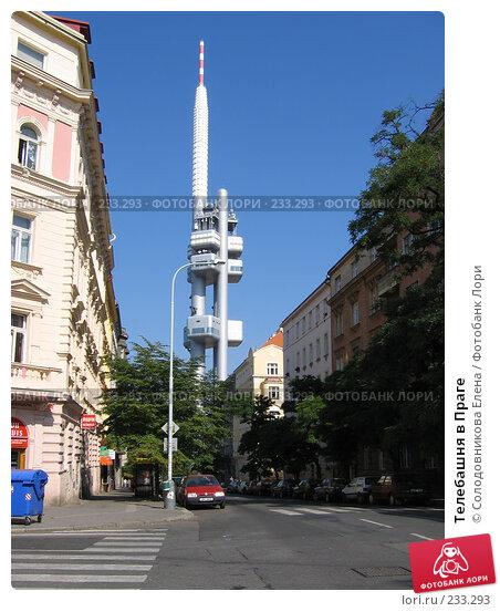 Купить «Телебашня в Праге», фото № 233293, снято 6 сентября 2004 г. (c) Солодовникова Елена / Фотобанк Лори