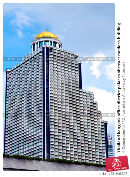 Thailand bangkok office district palaces abstract modern building... Стоковое фото, фотограф Zoonar.com/LKPRO / easy Fotostock / Фотобанк Лори
