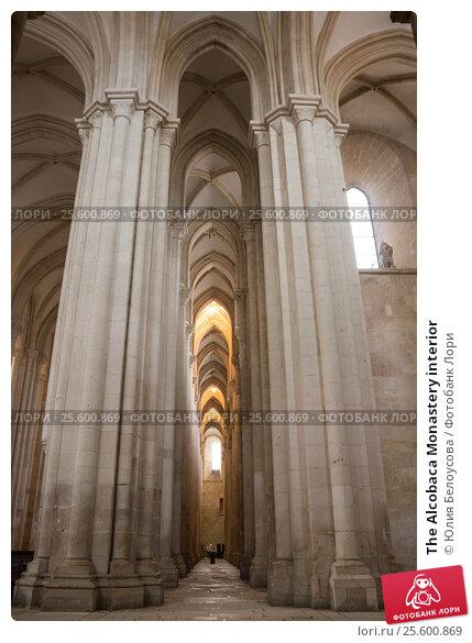 The Alcobaca Monastery interior, фото № 25600869, снято 16 октября 2015 г. (c) Юлия Белоусова / Фотобанк Лори