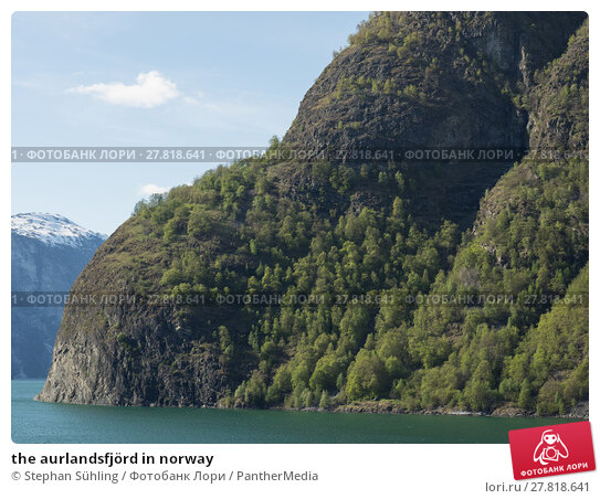Купить «the aurlandsfjörd in norway», фото № 27818641, снято 22 февраля 2018 г. (c) PantherMedia / Фотобанк Лори