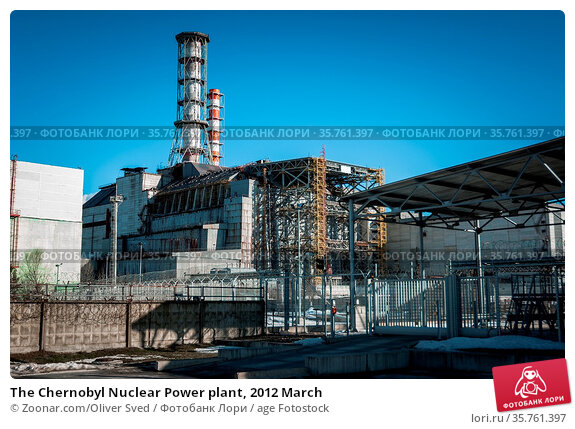 The Chernobyl Nuclear Power plant, 2012 March. Стоковое фото, фотограф Zoonar.com/Oliver Sved / age Fotostock / Фотобанк Лори