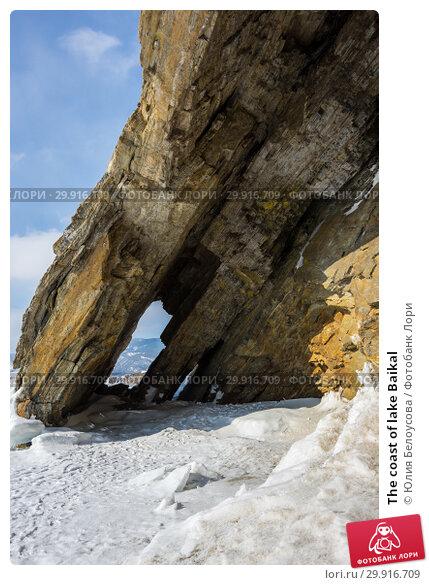 Купить «The coast of lake Baikal», фото № 29916709, снято 6 марта 2017 г. (c) Юлия Белоусова / Фотобанк Лори