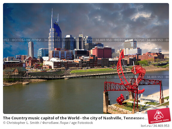 The Country music capitol of the World - the city of Nashville, Tennessee... Стоковое фото, фотограф Christopher L. Smith / age Fotostock / Фотобанк Лори