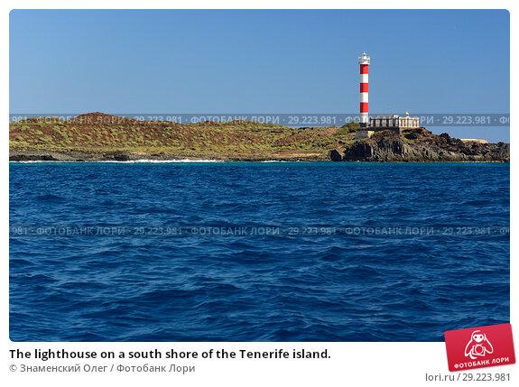 Купить «The lighthouse on a south shore of the Tenerife island.», фото № 29223981, снято 22 февраля 2007 г. (c) Знаменский Олег / Фотобанк Лори