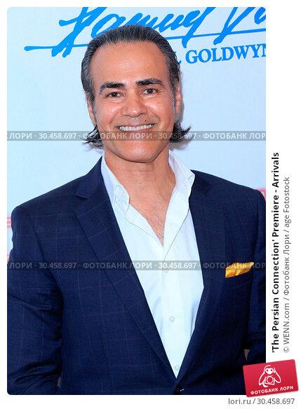 'The Persian Connection' Premiere - Arrivals (2017 год). Редакционное фото, фотограф WENN.com / age Fotostock / Фотобанк Лори