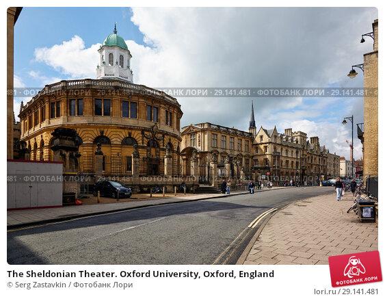 Купить «The Sheldonian Theater. Oxford University, Oxford, England», фото № 29141481, снято 15 мая 2009 г. (c) Serg Zastavkin / Фотобанк Лори