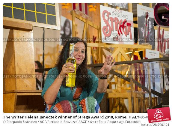 Купить «The writer Helena Janeczek winner of Strega Award 2018, Rome, ITALY-05-07-2018.», фото № 28700121, снято 5 июля 2018 г. (c) age Fotostock / Фотобанк Лори