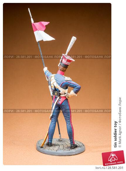 Купить «tin soldier toy», фото № 28581201, снято 13 июня 2018 г. (c) Mark Agnor / Фотобанк Лори