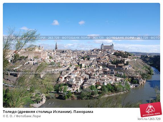 Толедо (древняя столица Испании). Панорама, фото № 263729, снято 21 апреля 2008 г. (c) Екатерина Овсянникова / Фотобанк Лори