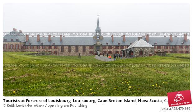Купить «Tourists at Fortress of Louisbourg, Louisbourg, Cape Breton Island, Nova Scotia, Canada», фото № 28479669, снято 13 июня 2016 г. (c) Ingram Publishing / Фотобанк Лори