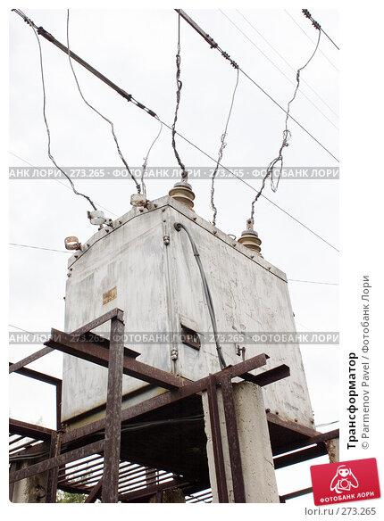Купить «Трансформатор», фото № 273265, снято 2 мая 2008 г. (c) Parmenov Pavel / Фотобанк Лори