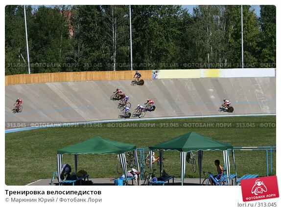 Тренировка велосипедистов, фото № 313045, снято 9 августа 2007 г. (c) Марюнин Юрий / Фотобанк Лори