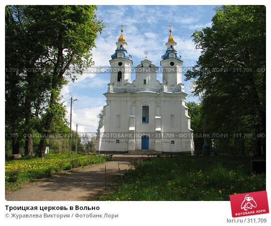 Троицкая церковь в Вольно, фото № 311709, снято 22 ноября 2007 г. (c) Журавлева Виктория / Фотобанк Лори