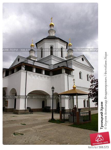 Троицкий Храм, фото № 308573, снято 1 июня 2008 г. (c) Окунев Александр Владимирович / Фотобанк Лори