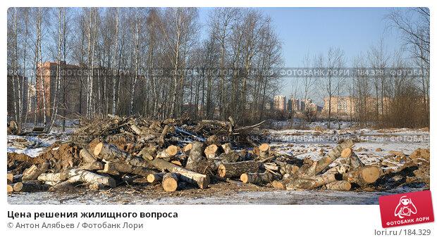 Купить «Цена решения жилищного вопроса», фото № 184329, снято 16 декабря 2017 г. (c) Антон Алябьев / Фотобанк Лори