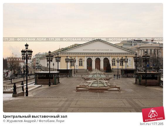 Центральный выставочный зал, эксклюзивное фото № 177205, снято 13 января 2008 г. (c) Журавлев Андрей / Фотобанк Лори
