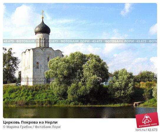 Церковь Покрова на Нерли, фото № 43673, снято 12 августа 2004 г. (c) Марина Грибок / Фотобанк Лори