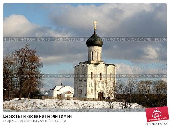 Церковь Покрова на Нерли зимой, эксклюзивное фото № 15785, снято 5 ноября 2006 г. (c) Ирина Терентьева / Фотобанк Лори
