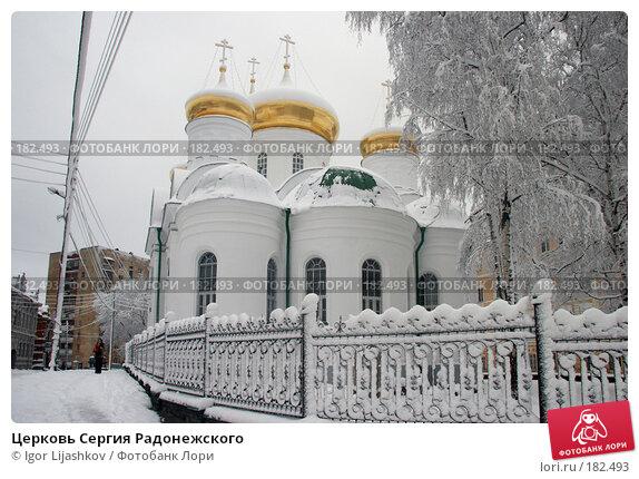 Церковь Сергия Радонежского, фото № 182493, снято 11 ноября 2006 г. (c) Igor Lijashkov / Фотобанк Лори