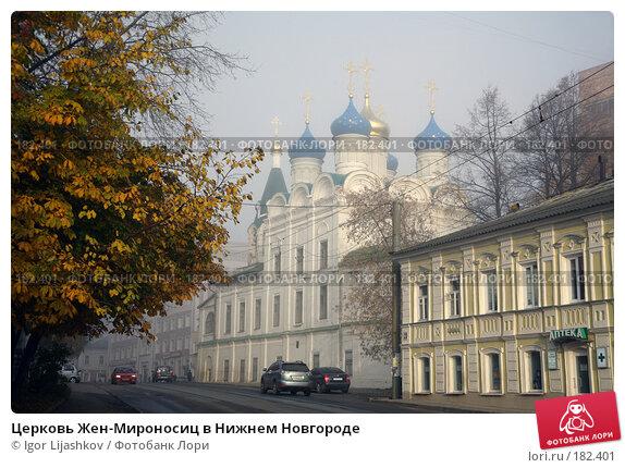 Купить «Церковь Жен-Мироносиц в Нижнем Новгороде», фото № 182401, снято 25 октября 2007 г. (c) Igor Lijashkov / Фотобанк Лори