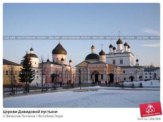 Церкви Давидовой пустыни, фото № 266589, снято 2 января 2008 г. (c) Вячеслав Потапов / Фотобанк Лори