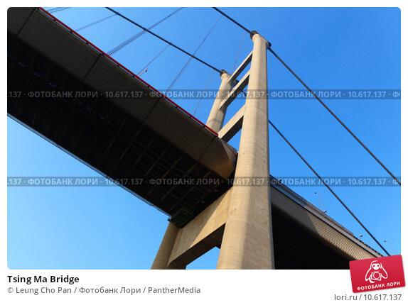 Tsing Ma Bridge. Стоковое фото, фотограф Leung Cho Pan / PantherMedia / Фотобанк Лори