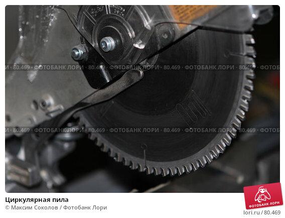 Циркулярная пила, фото № 80469, снято 27 августа 2007 г. (c) Максим Соколов / Фотобанк Лори