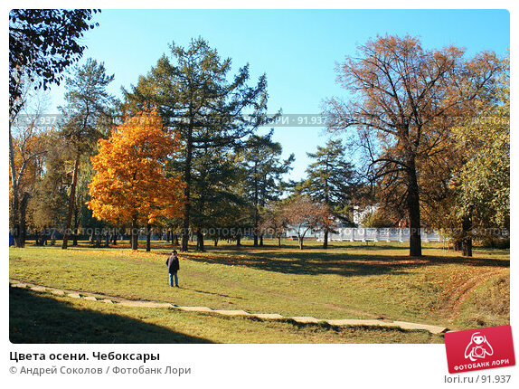 Купить «Цвета осени. Чебоксары», фото № 91937, снято 2 октября 2007 г. (c) Андрей Соколов / Фотобанк Лори