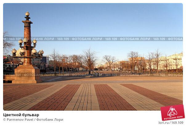 Купить «Цветной бульвар», фото № 169109, снято 3 января 2008 г. (c) Parmenov Pavel / Фотобанк Лори