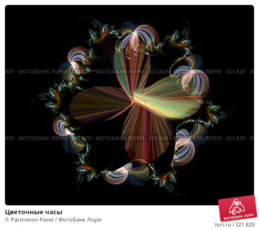 Цветочные часы, иллюстрация № 321829 (c) Parmenov Pavel / Фотобанк Лори