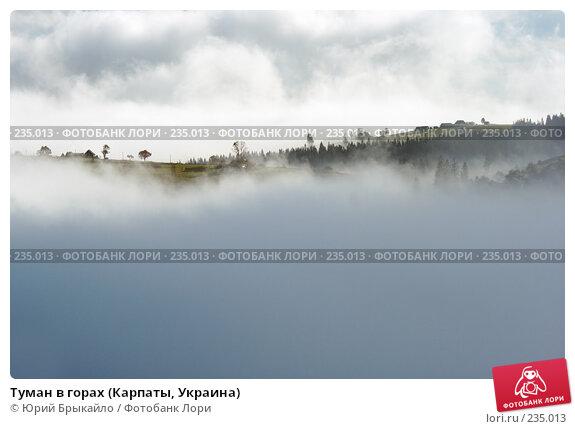 Туман в горах (Карпаты, Украина), фото № 235013, снято 29 сентября 2007 г. (c) Юрий Брыкайло / Фотобанк Лори