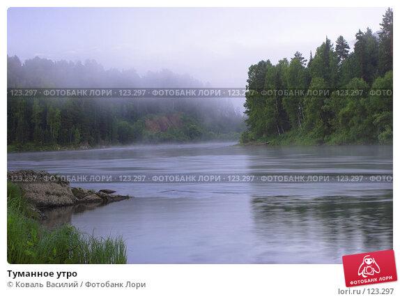 Туманное утро, фото № 123297, снято 23 июня 2017 г. (c) Коваль Василий / Фотобанк Лори