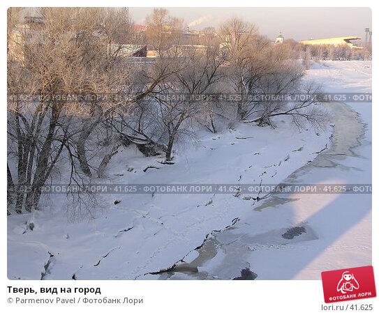 Тверь, вид на город, фото № 41625, снято 17 марта 2005 г. (c) Parmenov Pavel / Фотобанк Лори