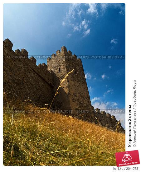 У крепостной стены, фото № 204073, снято 5 августа 2007 г. (c) Алексей Пантелеев / Фотобанк Лори