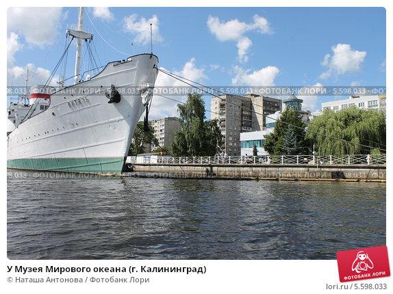 Купить «У Музея Мирового океана (г. Калининград)», эксклюзивное фото № 5598033, снято 1 августа 2013 г. (c) Ната Антонова / Фотобанк Лори