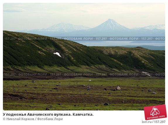У подножья Авачинского вулкана. Камчатка., фото № 157297, снято 4 августа 2007 г. (c) Николай Коржов / Фотобанк Лори