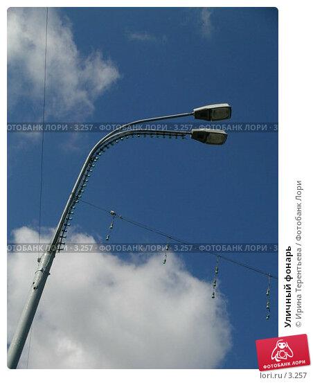 Уличный фонарь, эксклюзивное фото № 3257, снято 3 июля 2004 г. (c) Ирина Терентьева / Фотобанк Лори