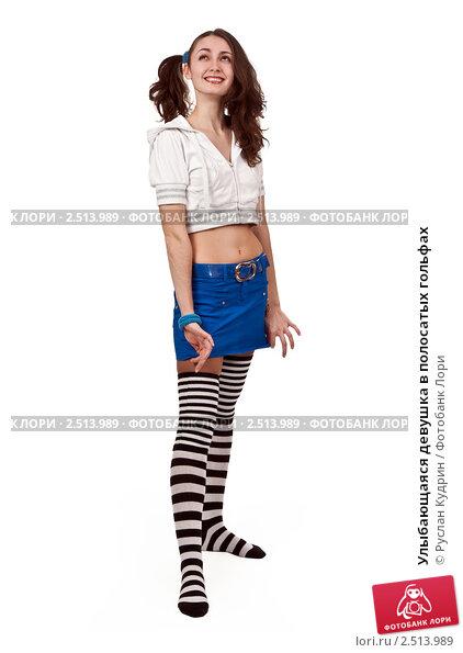 Образ девушки с хвостиками и гольфах — photo 6